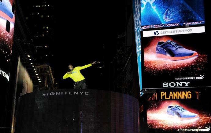 Usain Bolt evento Puma (Foto: AFP)