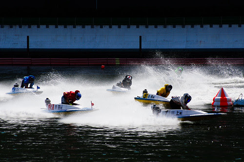 Boat Raceing @ Heiwajima Japan