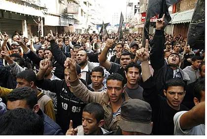 Gaza protest (file)