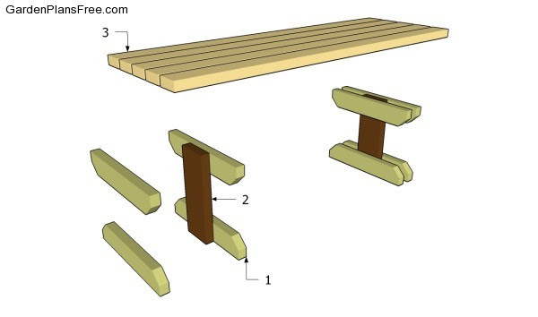 wooden park bench plans free woodworking bench top plans