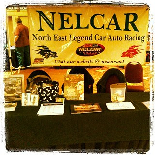 #NELCAR booth at The Racer's Expo #uslegends #racing