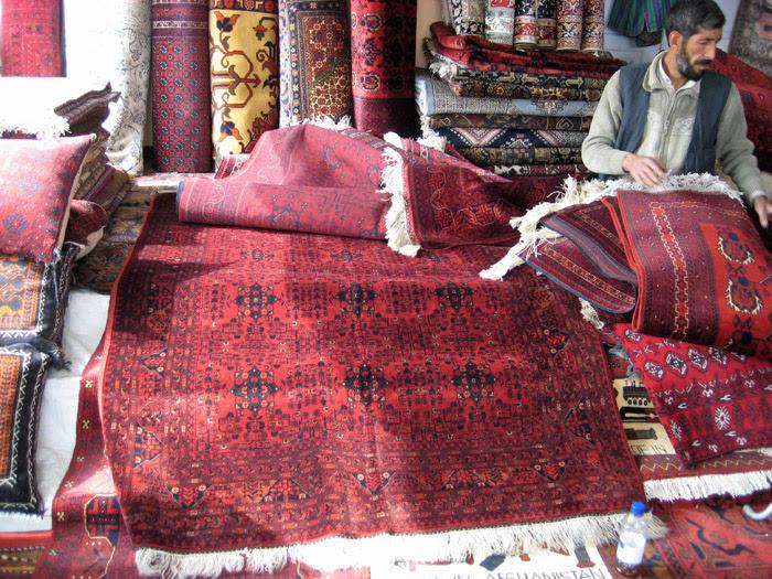 Carpet Merchant in Kabul