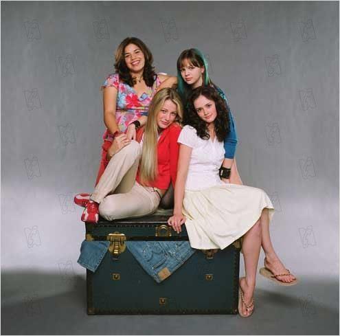 4 filles et un jean : photo Alexis Bledel, Amber Tamblyn, America Ferrera, Blake Lively, Ken Kwapis