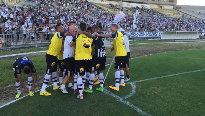 botafogo-pb, asa, série c (Foto: Lucas Barros / GloboEsporte.com/pb)