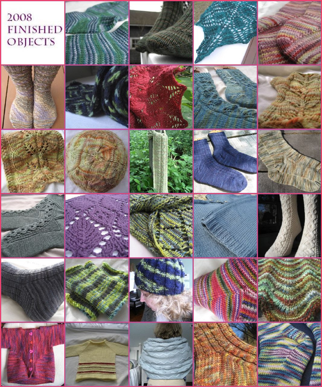 2008 Knitting in Review