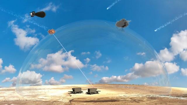 Israel announces 'breakthrough' laser defense system