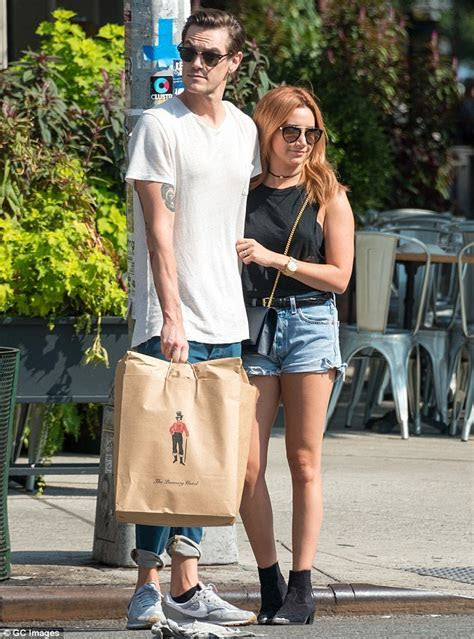 Ashley Tisdale and Christopher French celebrate first