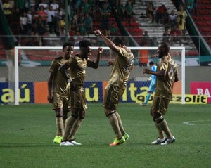 América-MG x Sport gol Rodney (Foto: Williams Aguiar/Sport)