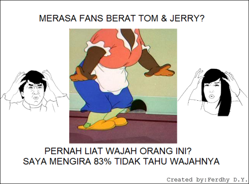 Akhirnya Majikan Tom&Jerry terungkap...