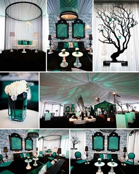 10 best Teal/rose gold wedding images on Pinterest   Table
