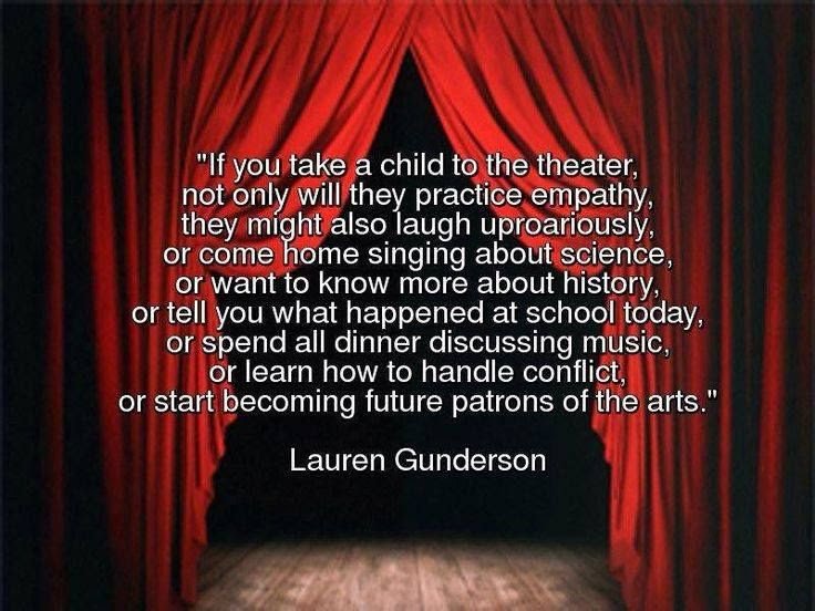 Why We Need Good Quality Childrens Theatre Read Theatre School