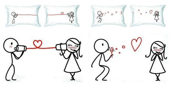 Valentines Gifts For Him Pillow Cases