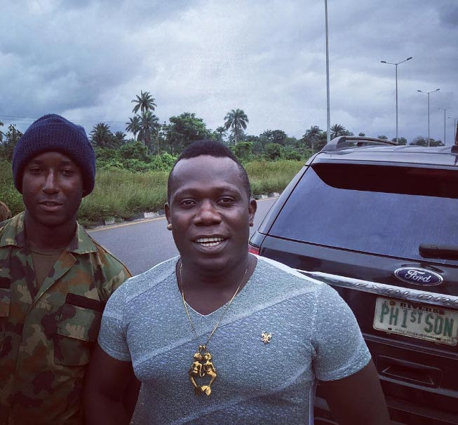 Duncan Mighty Rescues Accident Victim In Delta
