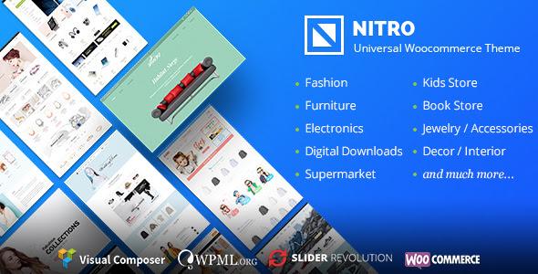 Nitro v1.6.5 - Universal WooCommerce Theme