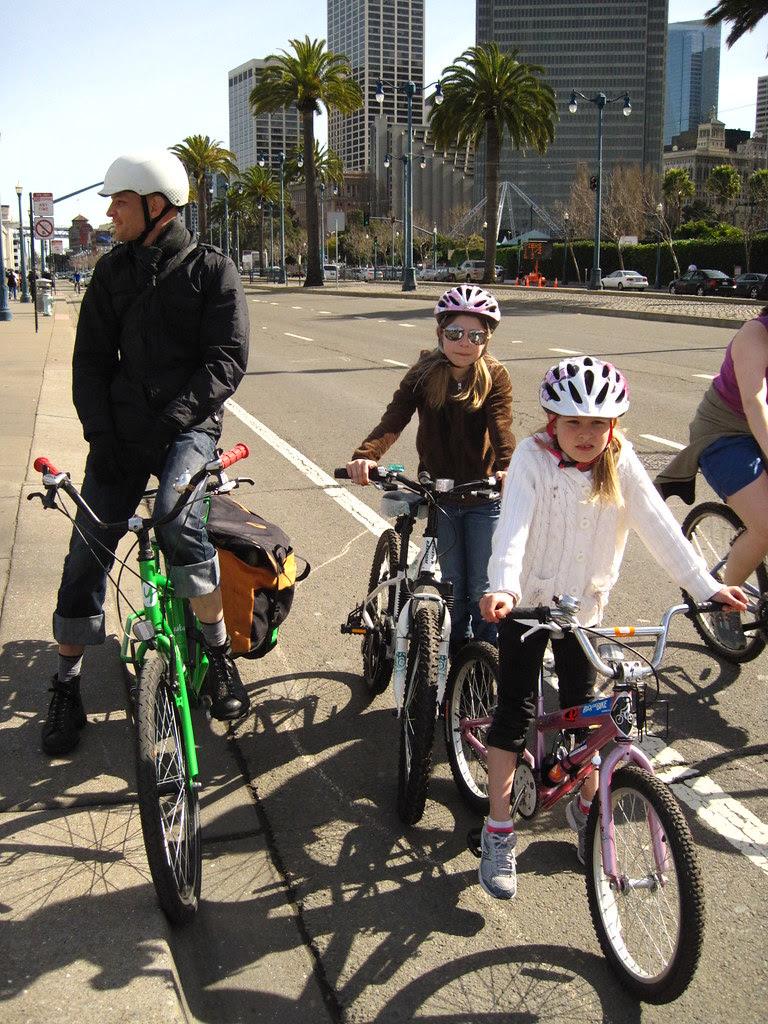 Bike lane futurama.