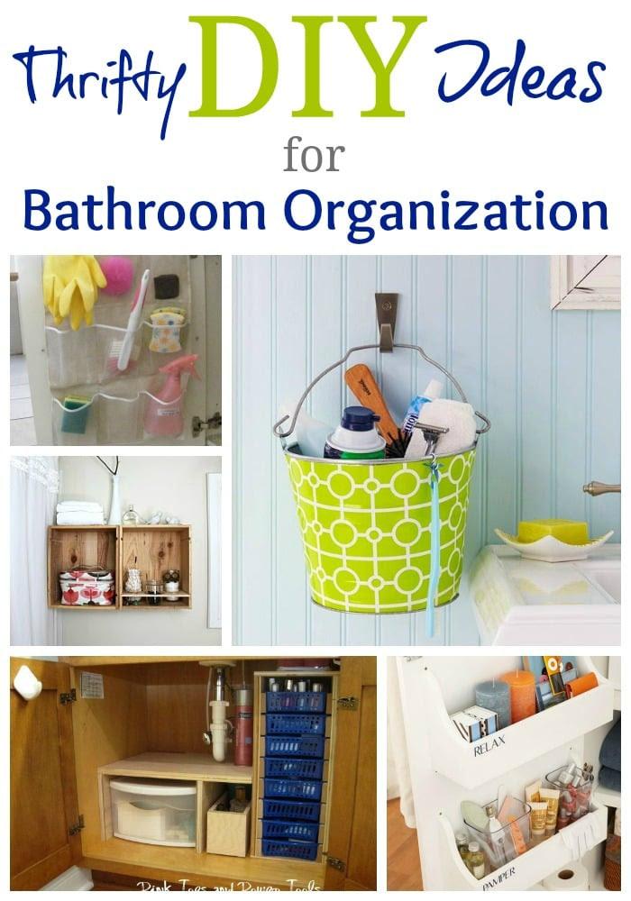 Real Life Bathroom Organization Ideas!