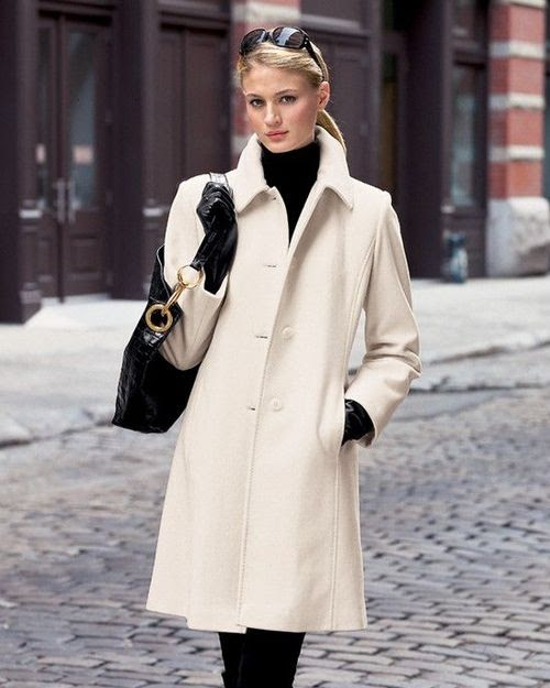 classic style-single breasted coat...love