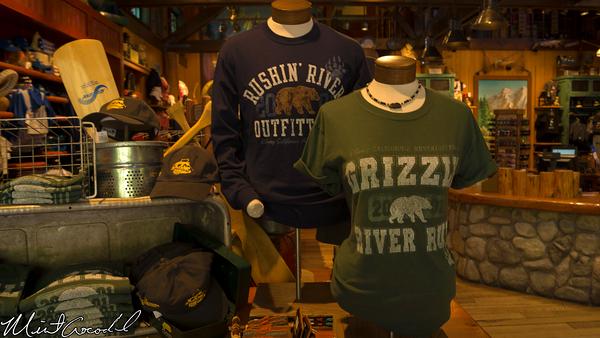 Disneyland Resort, Disney California Adventure, Grizzly River Run, Merchandise