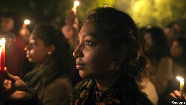 Cerca de 24 mil mulheres foram estupradas na Ìndia só em 2011 (Foto: Reuters)
