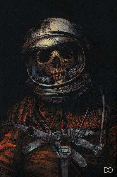 Dead astronaut by dig-orgasm