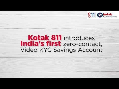 Kotak Mahindra 811 Bank में  जीरो (₹ 0 )  बैलेंस सेविंग अकाउंट कैसे खोले  5 मिनट में