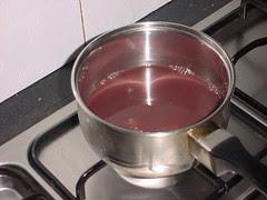 Sauce reduction