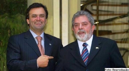 Aécio e Lula: Os resultados não são bons para ninguém: nenhum nome avança