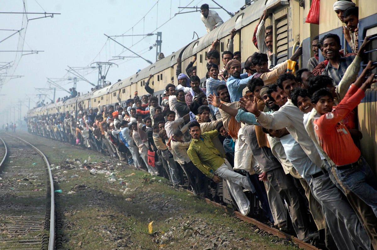 India's current population is 1.2 billion.