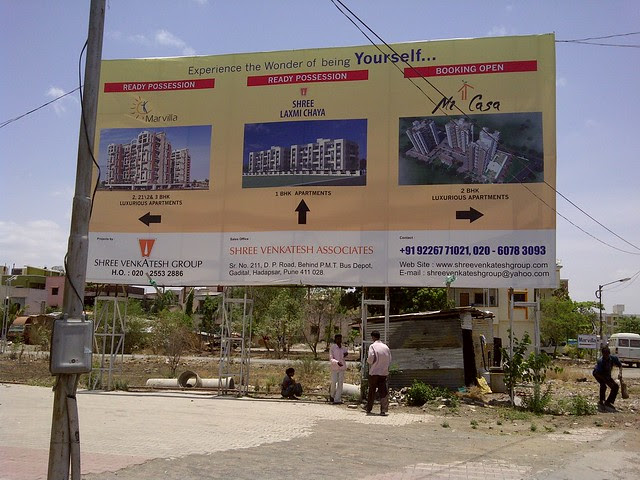 Shree Venkatesh Group's Ready Possession Marvilla (2 BHK 2.5 BHK & 3 BHK Flats) & Shree Laxmi Chaya (1 Room Kitchen & 1 BHK Flats) and Mi Casa (2 BHK Flats) on Baburao Shankarrao Tupe Road (D P Road) Hadapsar - Visit Livogue - 1 BHK, 1.5 BHK & 2 BHK Flats
