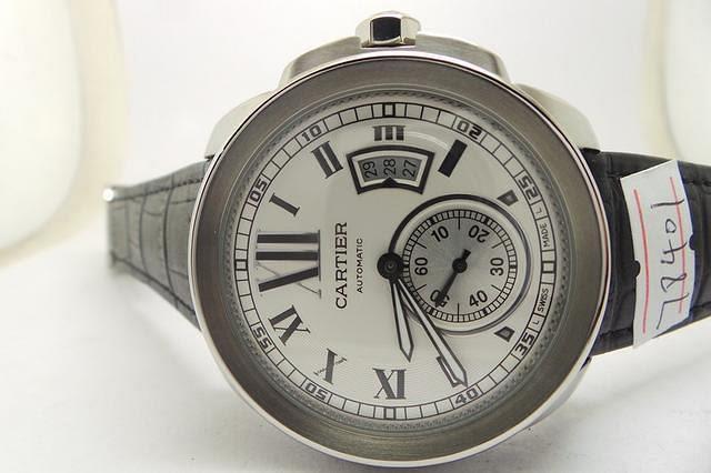 Calibre De Cartier White