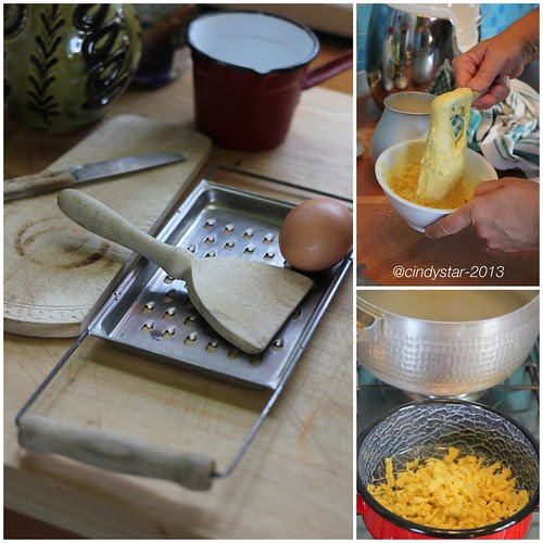 facendo galuska-making galuska