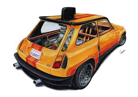 Renault 5 Turbo Funky Five by vsdesign69 on DeviantArt
