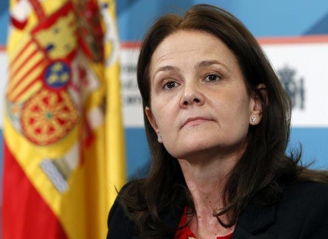 La secretaria de Estado, Montserrat Gomendio, este martes. EFE