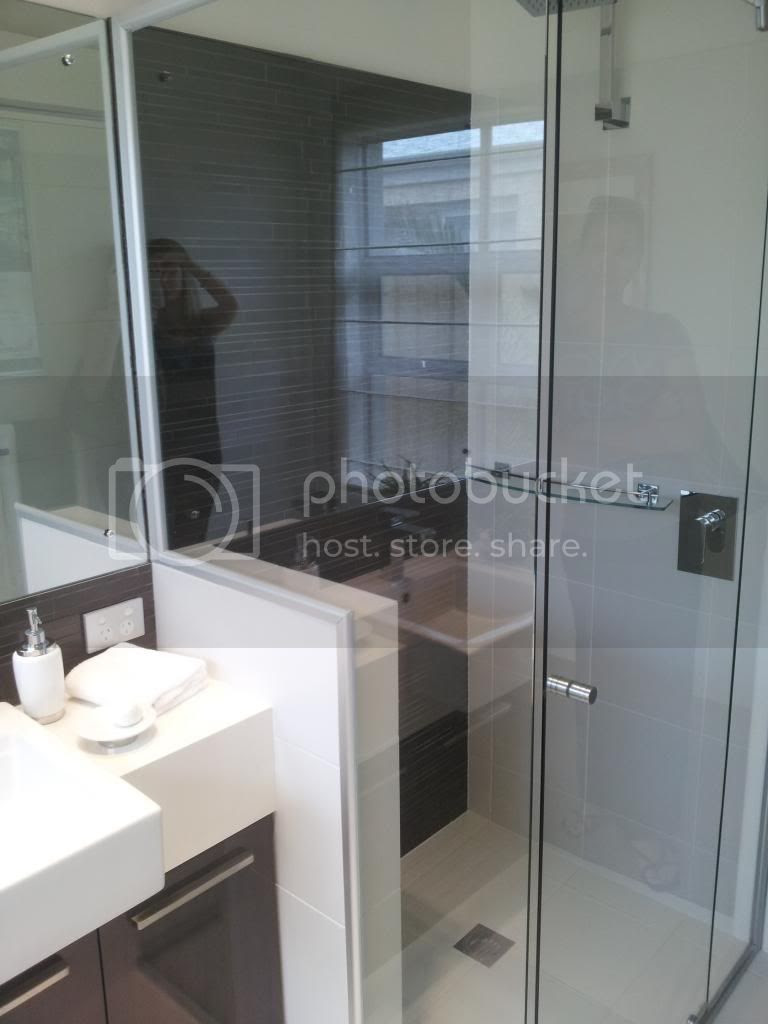 View Topic Space Between Shower Screen And Vanity Home