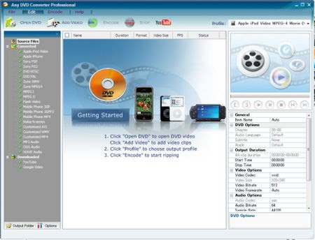 Any DVD Converter Professional 4.0.3 Multilingual Portable