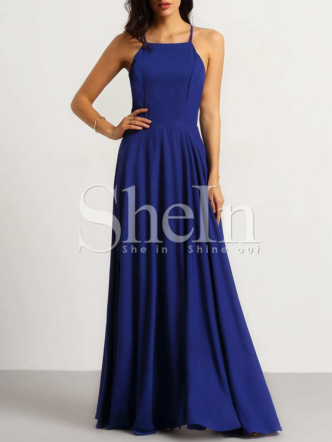Cold Shoulder Side Slit Black Maxi Dress box grand haven womens
