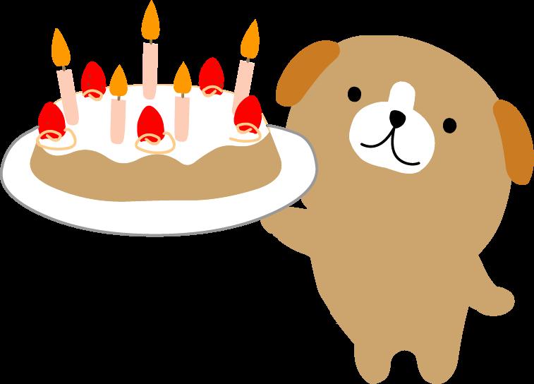 ケーキお祝いのイラスト無料素材フリー素材無料イラスト