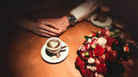 Wedding Rings On A Background Flavor. Stock Photo   Image