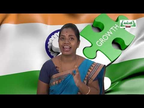 கலைத்தொழில் பழகு Std 11 TM Economics இந்தியாவின் மேம்பாடு அனுபவங்கள் Kalvi TV