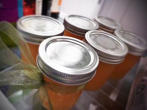 jam in fridge