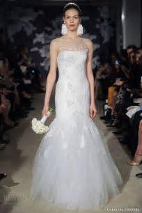 Carolina Herrera Bridal Spring 2015 Wedding Dresses