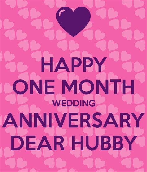Happy First Month Wedding Anniversary   Bigoo