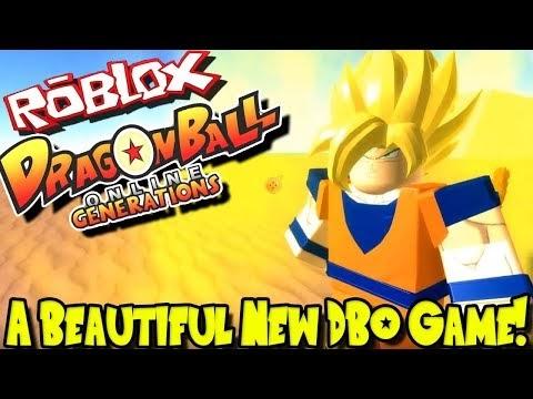 Owtreyalp Roblox Dbz A Beautiful New Dragon Ball Online Game Roblox Dragon Ball Online Generations