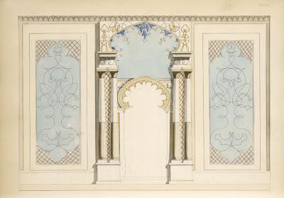 Moorish and perpendicular gothic styles