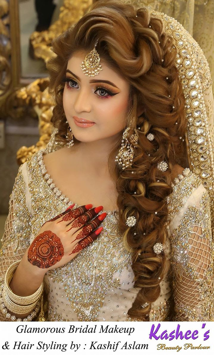 Famous Inspiration 41 Kashee Bridal Hair Style Video