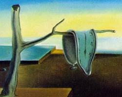 """""""La persistencia de la memoria"""" (Salvador Dalí, 1931) Wikipaintings"""