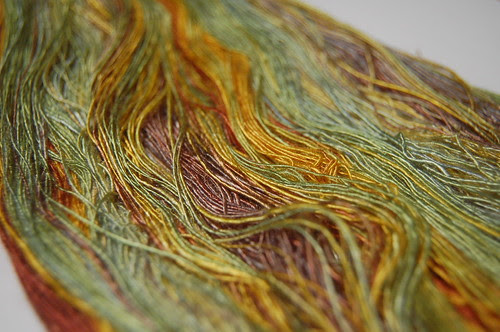 """""""Sunflowers"""" bamboo laceweight singles"""