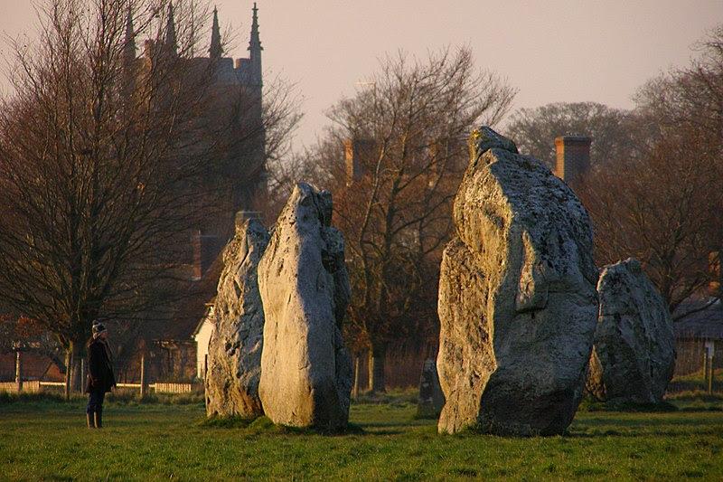 Photo of Avebury by Jim Champion (from Wikimedia Commons)