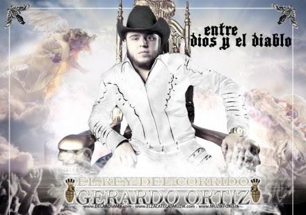 Gerardo Ortiz, cantante de corridos. Foto: Especial