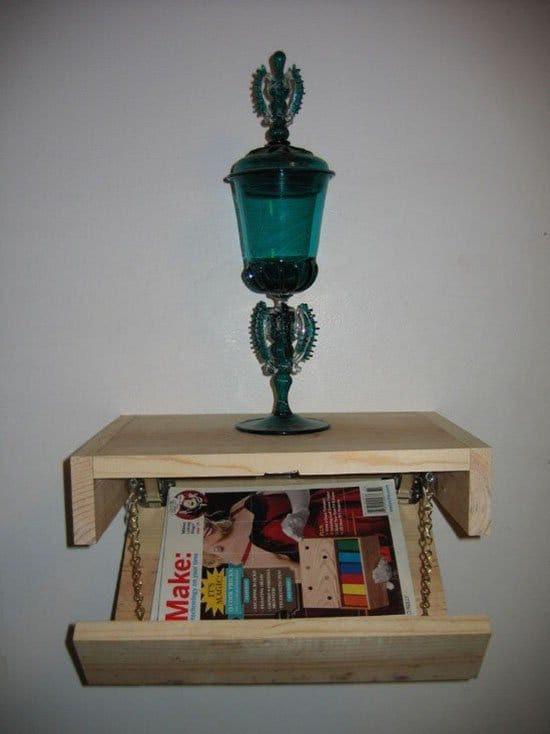 hiding place shelf